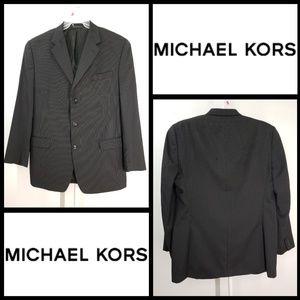 Other - michael kors men pinstripe suit size 44L brown